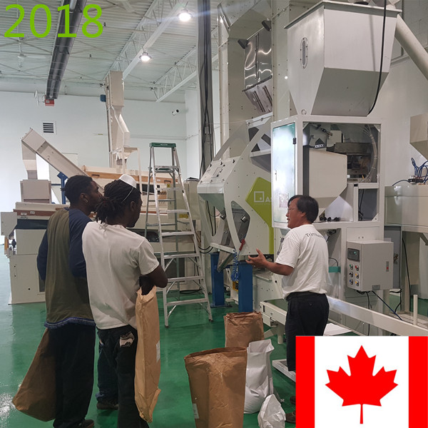 SYNMEC 2T/H Quinoa Cleaning Plant In Canada At 2018