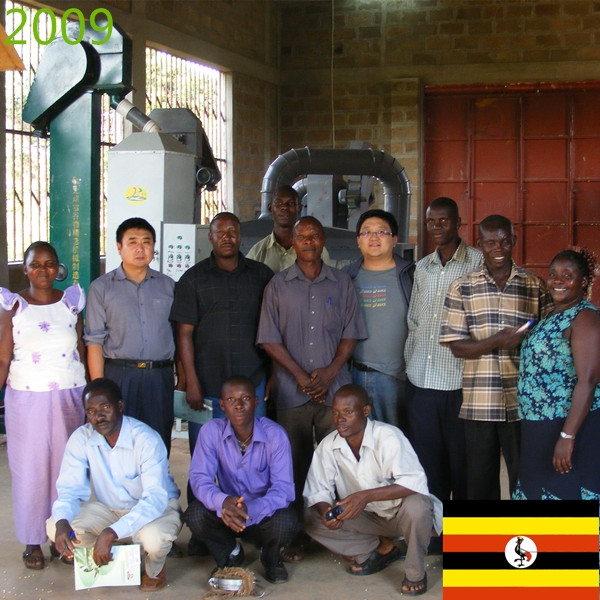 SYNMEC 5T/H Maize Seed Processing Plant In Uganda At 2009