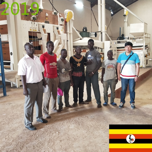 SYNMEC 2T/H Chia Seed Cleaning Plant In Uganda At 2019