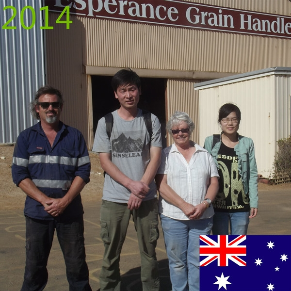SYNMEC 1T/H Grass Seed Cleaning Plant In Australia At 2014