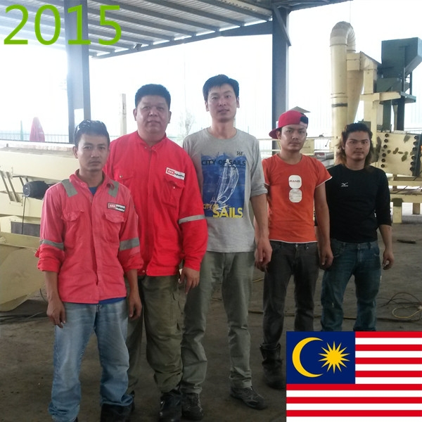 SYNMEC 4T/H Palm Cleaning Plant In Malaysia At 2015