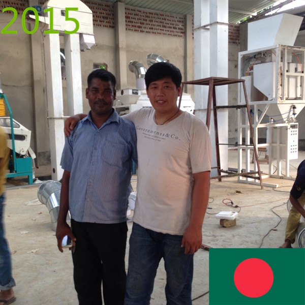 SYNMEC 5T/H Sesame Cleaning Plant In Bangladesh At 2015