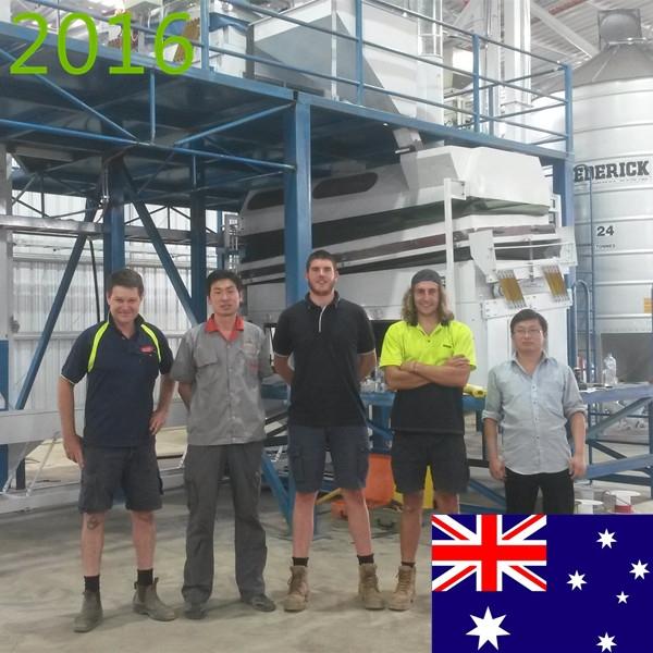 SYNMEC 2T/H Quinoa Seed Processing Plant In Australia At 2016
