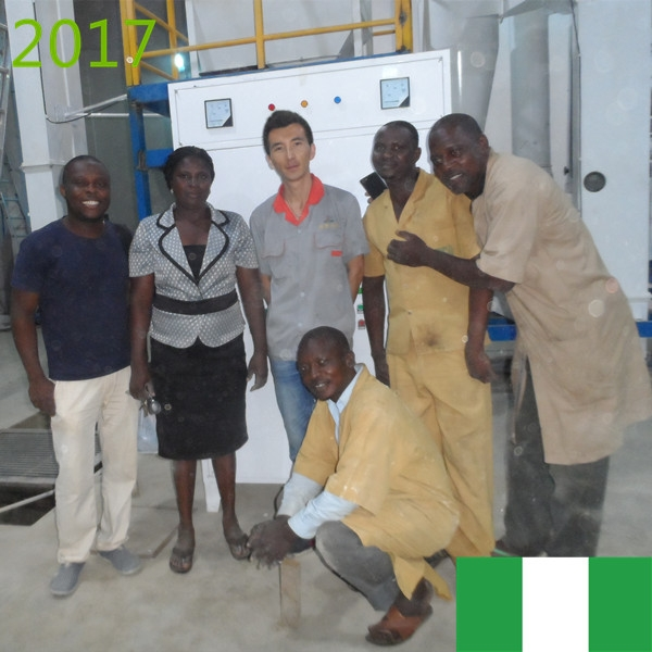 SYNMEC 5T/H Sorghum Cleaning Plant In Nigeria At 2017