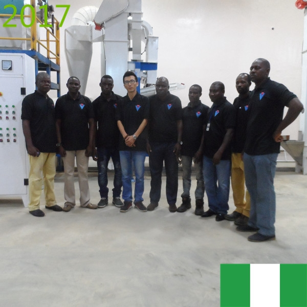 SYNMEC 10T/H Sorghum Cleaning Plant In Nigeria At 2017