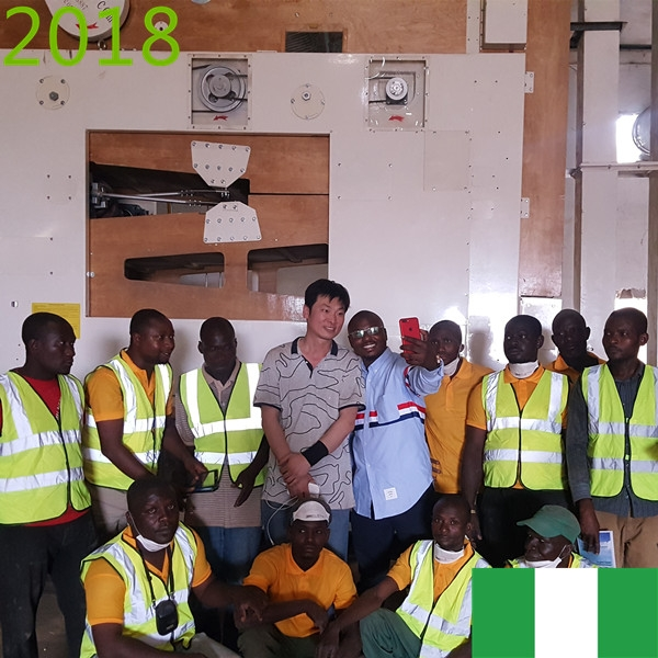 SYNMEC 10T/H Sorghum Cleaning Plant In Nigeria At 2018