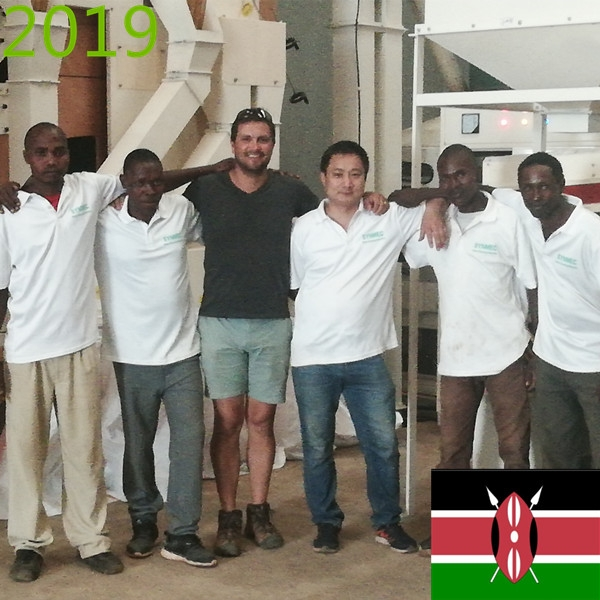 SYNMEC 2T/H Chia Seed Cleaning Plant In Kenya At 2019