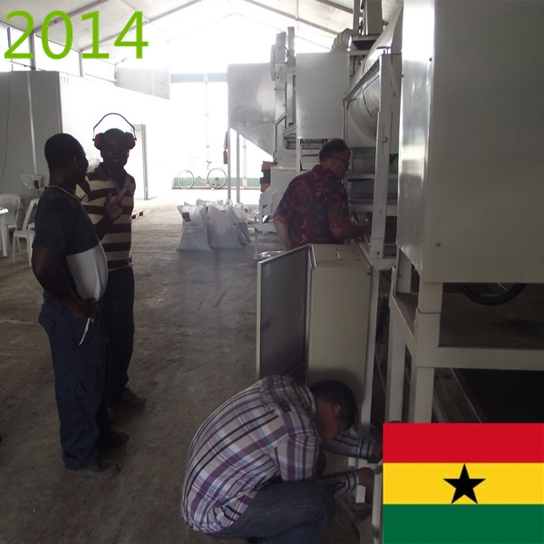 SYNMEC 2T/H Chia Seed Cleaning Plant In Ghana At 2014