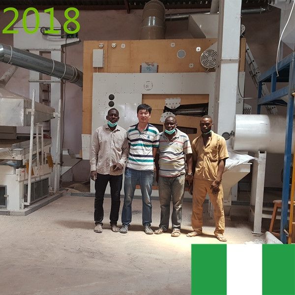 SYNMEC 10T/H Sorghum Claning Plant In Nigeria At 2018