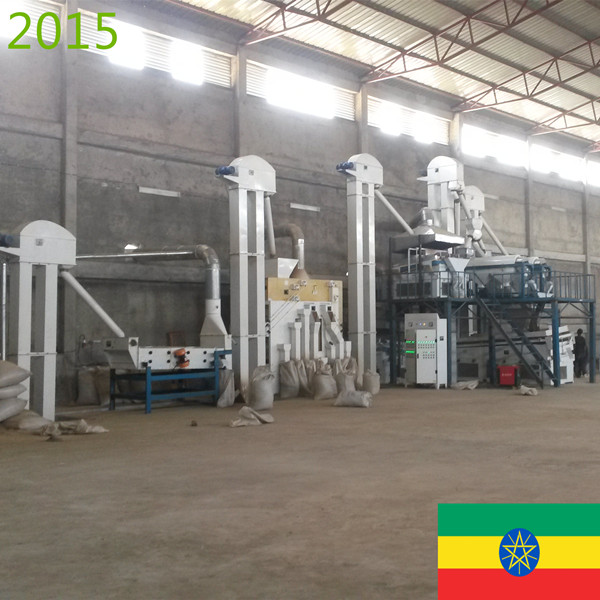 SYNMEC 5T/H Sesame & 8T/H Pulses Cleaning Plant