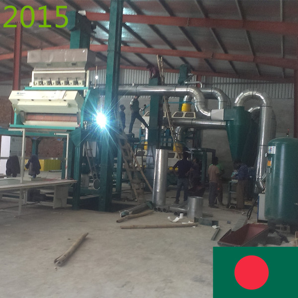 SYNMEC 7T/H Sesame Seed Cleaning Plant