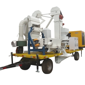 5M series mobile seed processing plant