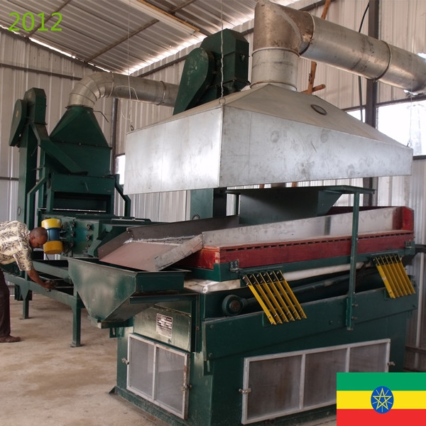 SYNMEC 2T/H Teff & 5T/H Pulses Cleaning Plant