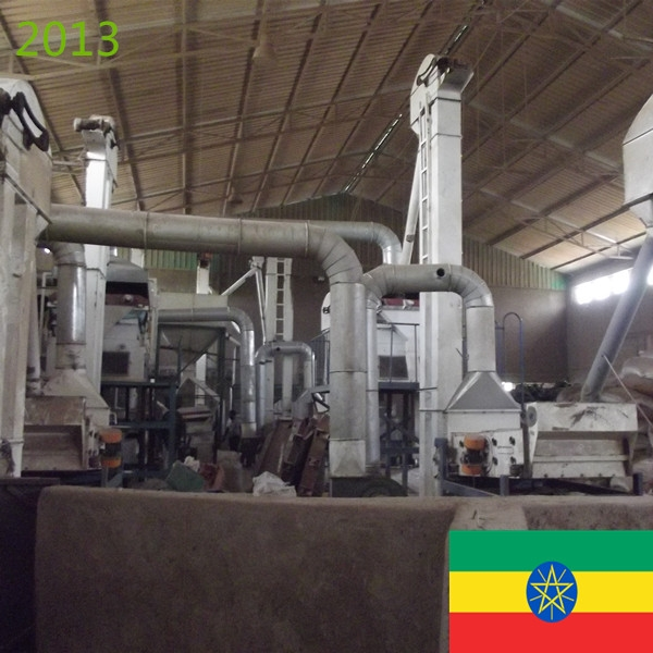SYNMEC 5T/H Sesame & 8T/H Pulses Cleaning Plant 2013 Ethiopia
