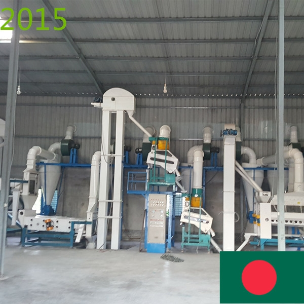 SYNMEC 5T/H Sesame Seed Cleaning Plant