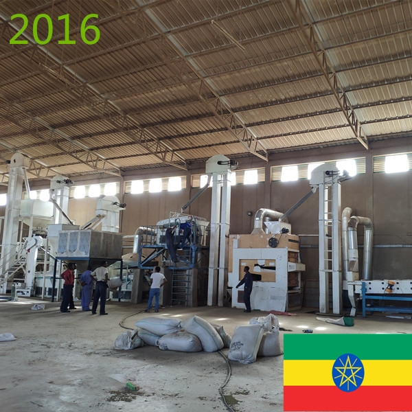 SYNMEC 5T/H Sesame & 8T/H Pulses Cleaning Plant 2016 Ethiopia