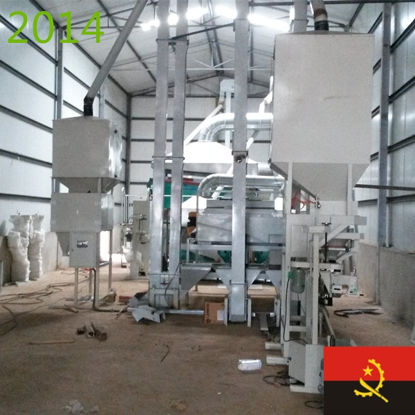 SYNMEC 10T/H Kidney Bean Cleaning Plant