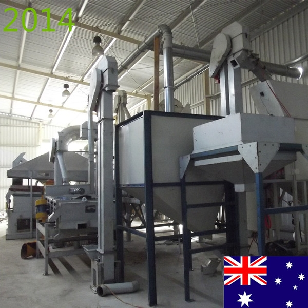 SYNMEC 1T/H Grass Seed Processing Plant