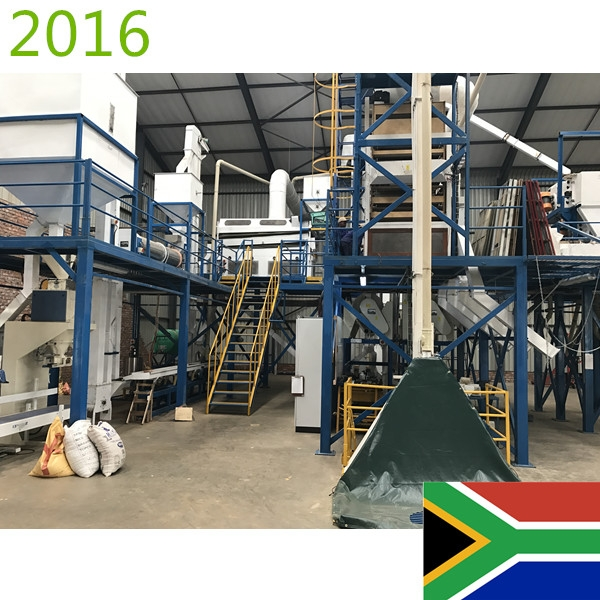 SYNMEC 5T/H Maize Seed Processing Plant