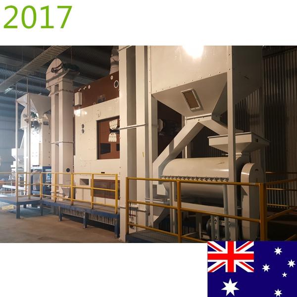SYNMEC 10T/H Barley Seed Processing Plant