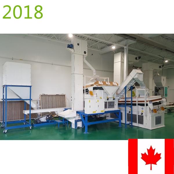 SYNMEC 2T/H Quinoa Seed Processing Plant