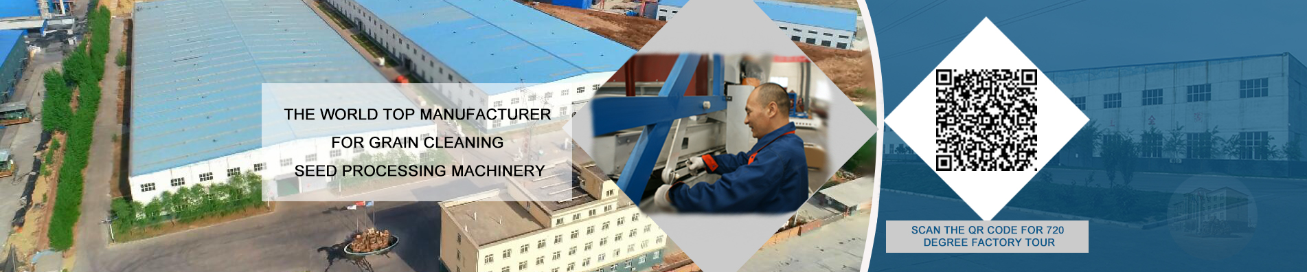 The world top manufacturer for grain cleaning & seed processing machinery